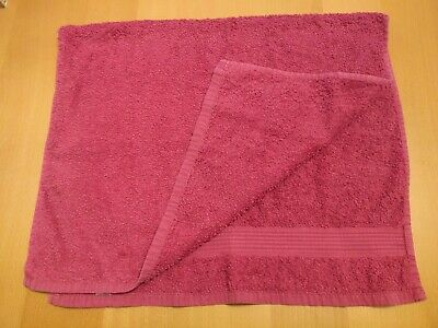 Pink hand towel (excellent condition)