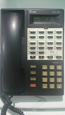 Avaya Lucent AT&T Partner MLS 18D Black Business Phone