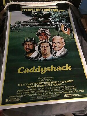 CADDYSHACK MOVIE POSTER 1980 A3 A4 Classic Vintage Film Art Print Bill Murray