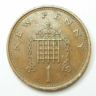 1971  New Penny Coin Original Old Coin 1p Circulated