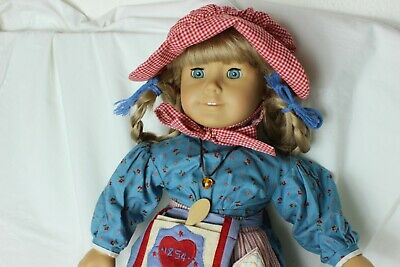 Pleasant Company American Girl Kristen Doll Meet Outfit w Accessories. Excellent