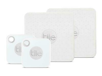 Tile  Bluetooth Tracker : ONE mate And ONE slim : Combo (Slim & Mate) - 2 Pack: