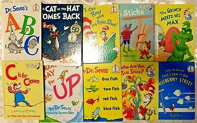 Lot 10 Dr Seuss And Other Authors Bright And Early Beginner Books  ~ I Can Read