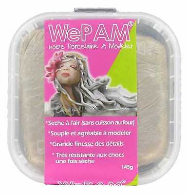 Porcelaine froide à modeler WePam 145 g Taupe - WePam