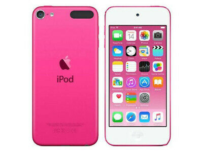 Apple iPod Touch 6th Generation Pink 16 GB bundle with case and external battery