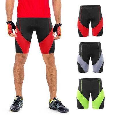 Arsuxeo Men/'s Cycling Breathable 3D Gel Padded Bike Bicycle MTB Shorts NEW X2D5