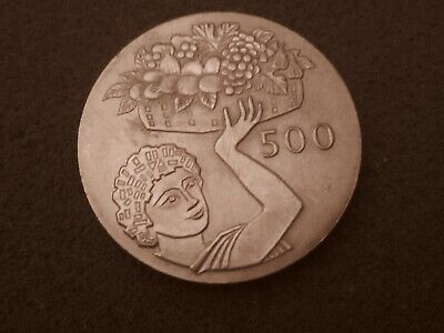 500 mils  coin from Cyprus  FAO 1970 UNC