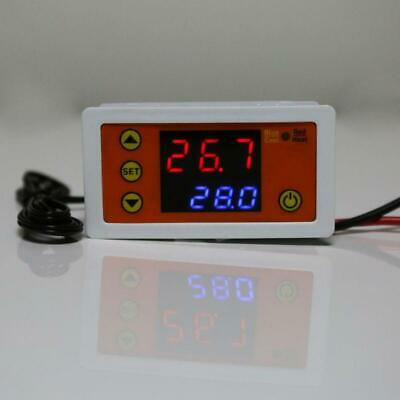 AC110V-220V DC12V Thermostat Cooling Heating Temperature Controller with Buzzer
