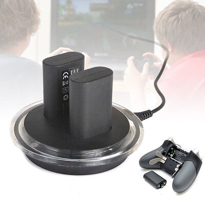 2x Rechargeable Battery + Charging Charge Dock Station for XBOX ONE Controlle dn