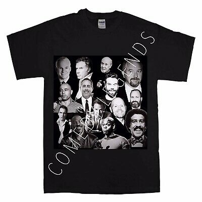 Comedy Legends T Shirt Louis Ck Joe Rogan Dave Chappelle Black Adult Medium