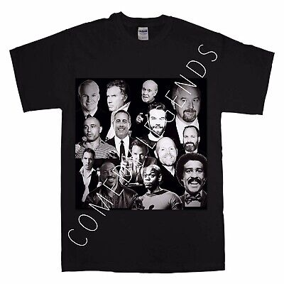 Comedy Legends T Shirt Louis Ck Joe Rogan Dave Chappelle Black Adult Large
