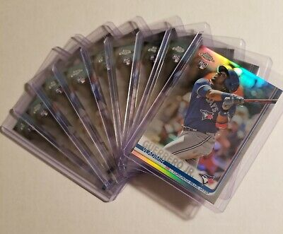 2019 Topps Chrome Vladimir Guerrero Jr RC Rookie 9 Card Lot 1 Refractor 8 Base