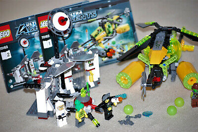 Lego 70163 Ultra Agents Toxicas Attack with Figures and Instructions
