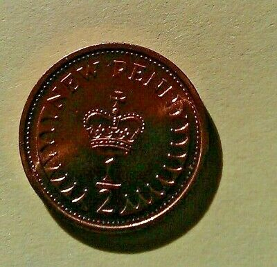 1973 Uncirculated Half Penny (Pence 10 For £2)