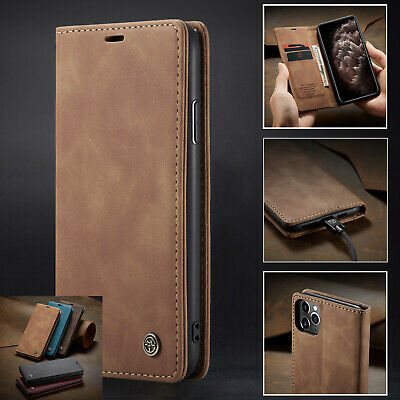 Magnetic For iPhone 11 / 11 Pro Max Wallet Case Stand Card Case Flip Cover