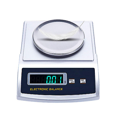 CGOLDENWALL 0.1g/0.01g/0.001g Analytical Lab Balance Scale Precision Gram Fabric