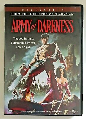 Army of Darkness DVD 1998 Widescreen Sam Raimi, Bruce Campbell - Like New
