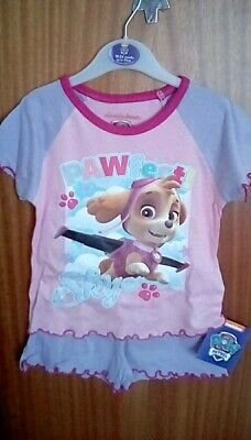Paw Patrol Girls Short Pyjamas