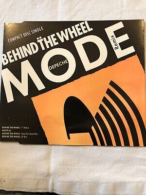 Depeche Mode - Behind The Wheel - CD Single