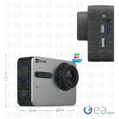 Ezviz S1 Action Camera Sport Full HD Wifi 8 MP Bluetooth 4 Display Touch Screen