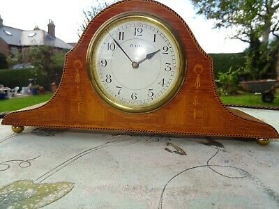 French Japy Freres French Mantel Clock Circa 1890's