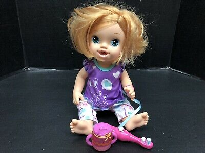 2011 Hasbro Baby Alive Brushy Baby Doll With Toothbrush 22 99 Picclick