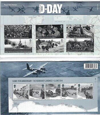 *GB 2019 : ROYAL MAIL D-DAY 75th ANNIVERSARY PRESENTATION PACK No. 572 MINT.