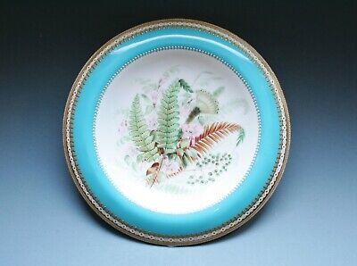 Minton Or Worcester Top Of Tazza  Beautifully Hand Painted