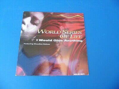 Vinyl - World Series Of Life Feat.claudine Nelson - I Would Give Anything - 1992
