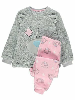 Girls me to you Tatty Teddy 2 Piece Pyjama Set  FLEECE Pyjamas  4-14 Years