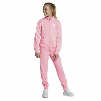 Nike NSW Sportswear Tracksuit | Girl's Size XL 13-15 Years | 939456 654 Pink