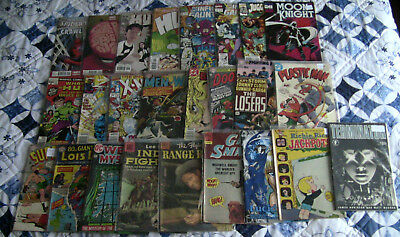 25 Marvel, DC and Independent titled comic books (Lot 5) Grab Bag