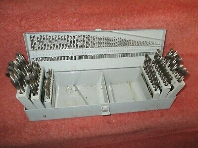 120 piece drill set - see pictures  - HSS