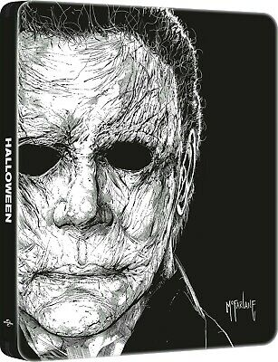 Halloween Steelbook 4K Ultra HD + blu-ray neuf sous blister VF incluse Sold Out
