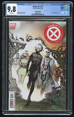 House of X #1 CGC 9.8 NM+/MT (Marvel 9/19) Premiere Edition variant cover