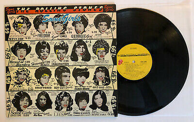 Rolling Stones - Some Girls - 1978 US 1st Press Banned Lucy/Marilyn Cover VG++