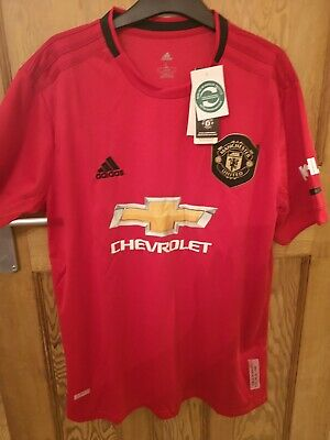 MANCHESTER UNITED HOME SHIRT 2019/2020, Large  (L), NEW WITH TAGS