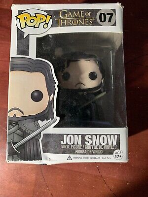 Game Of Thrones - Jon Snow Funko Pop! Television Toy New In Damaged Box