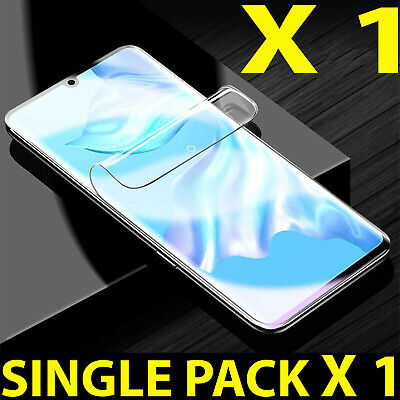 100% Brand New Clear Plastic Screen Protector For Samsung Galaxy S7 S8+ S10+ S10