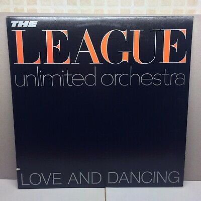 The Human League Unlimited Orchestra - Love And Dancing Lp Vinyl Unplayed Mint!