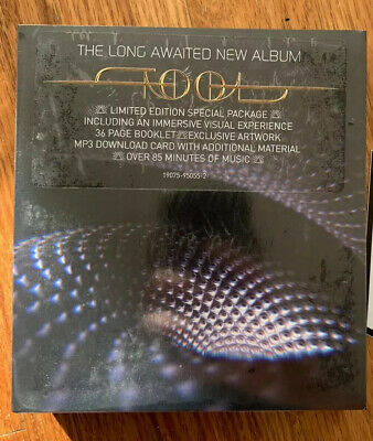 *New and Sealed* Tool Fear Inoculum Deluxe Limited Edition CD