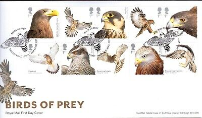 GB 2019 Royal Mail Birds of Prey SW11 Postmark F.D.C Unaddressed