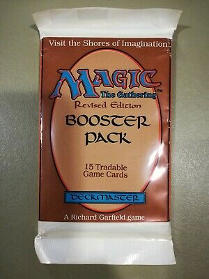 Revised Edition Booster Pack — Magic: The Gathering (1994) — New + Unsearched