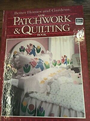 Better Homes & Gardens Patchwork & Quilting Book 1987 Sewing Crafts Home Decor