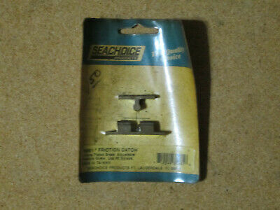 Vintage New Old Stock Seachoice Chrome Plated Brass Friction Catch 35981