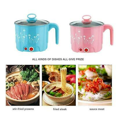 Multi-function Large Mini Electric Skillet Noodle Rice Fa Cooking Pan Pot C Q4X1