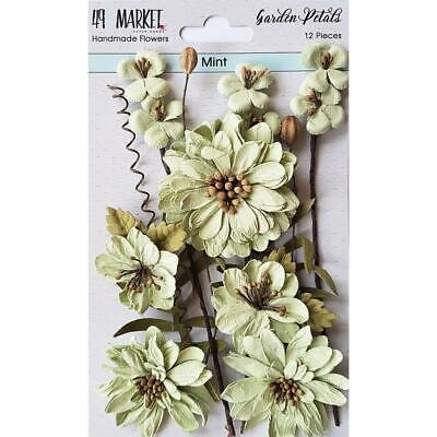 NEW 49 And Market Garden Petals 12 pack - Mint