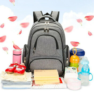 Nappy Mother Mummy Backpack Diaper Bags Baby Newborn Pad Changing Shoulder Bag ❤