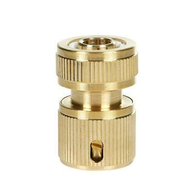 Brass Threaded Connector Hose Car Washing Gun Water Stop Quick Connection Male