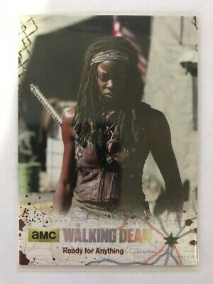 Walking Dead Season 4 Part 2 Silver Parallel Card #07 Ready for Anything 45/99